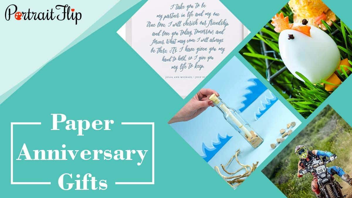 Paper anniversary gifts