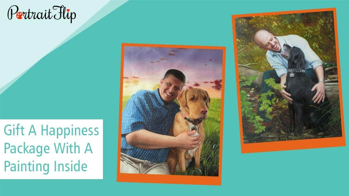 Gift a happiness package with a painting inside