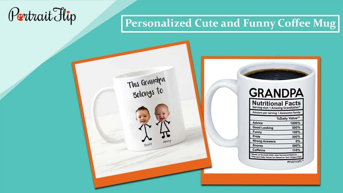 Personalized cute and funny coffee mug