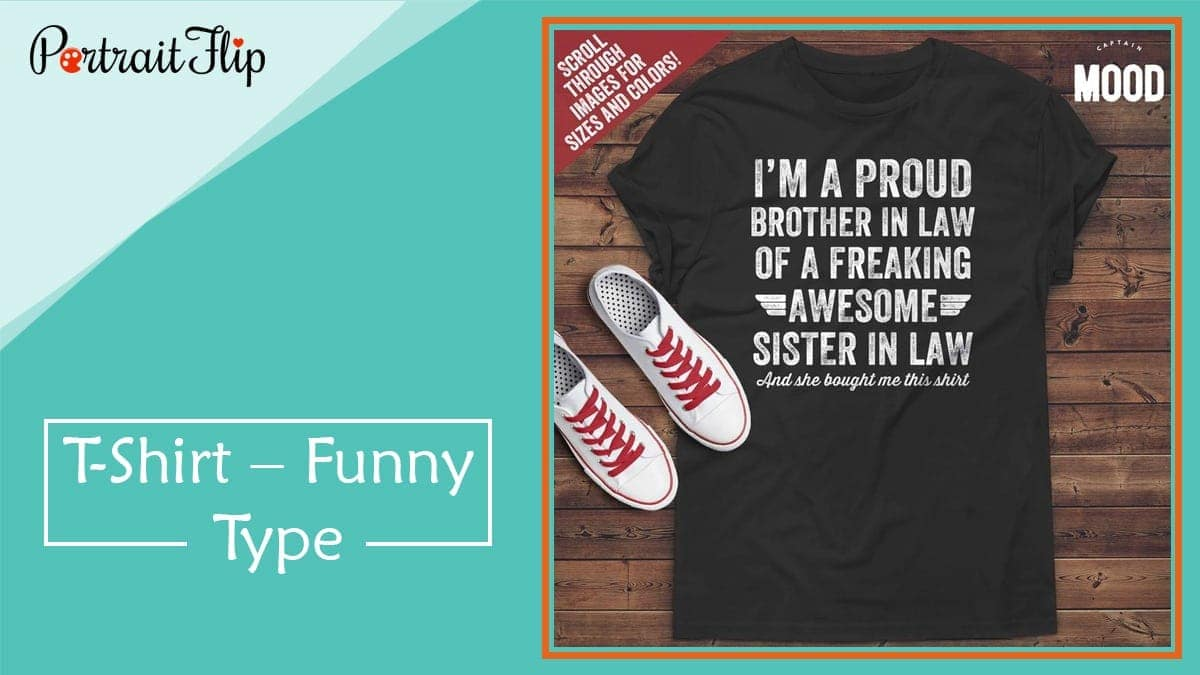 T shirt – funny type