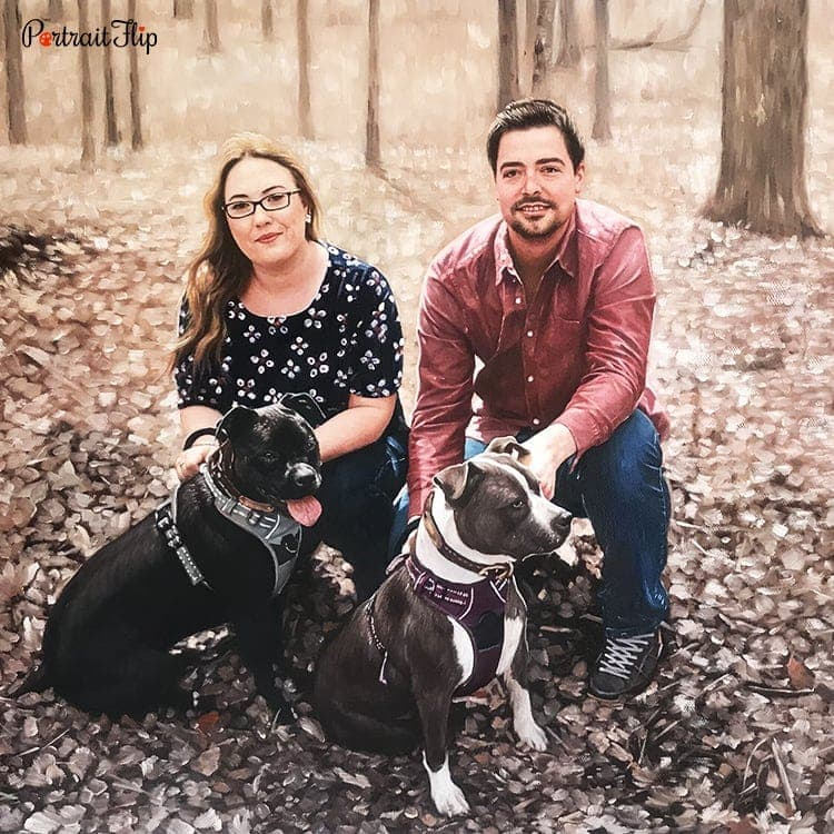 Family People and Pets Portraits