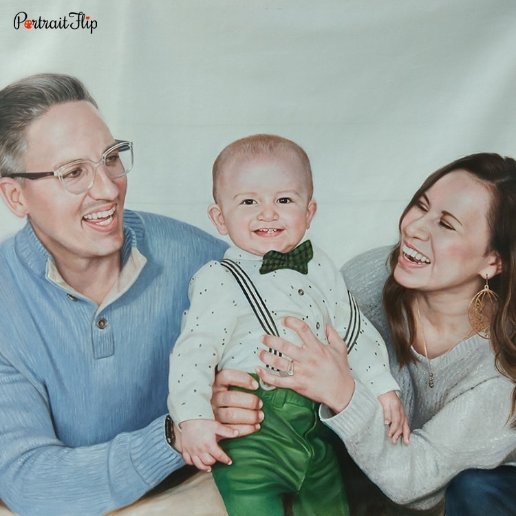 Parent and Children painting cover photo