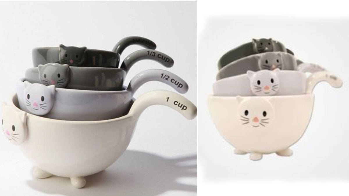 Cat Themed Measuring Cups