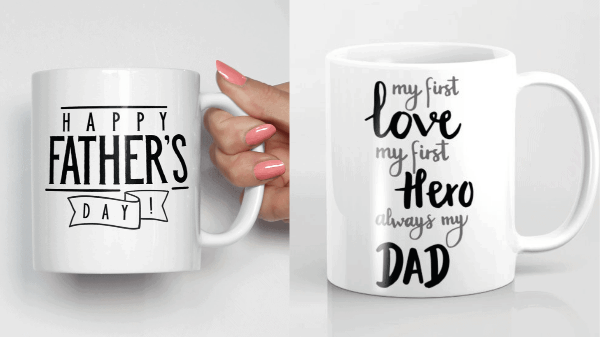 A Personalized Father's Day Mug