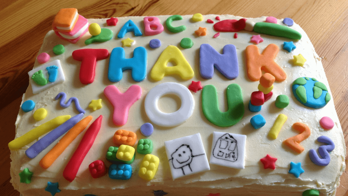Thank You Cake Friendship Day Gifts
