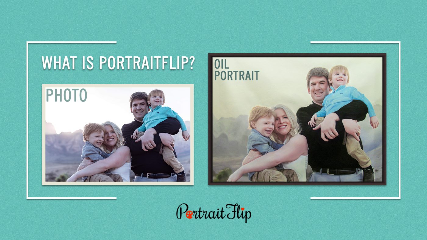 What is PortraitFlip?  what to do with old photos