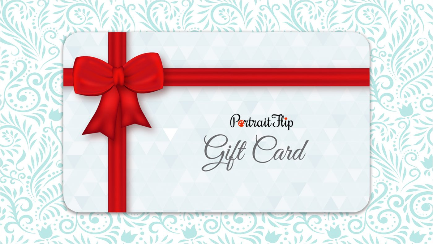 A Gift Card Father's Day Gifts PortraitFlip