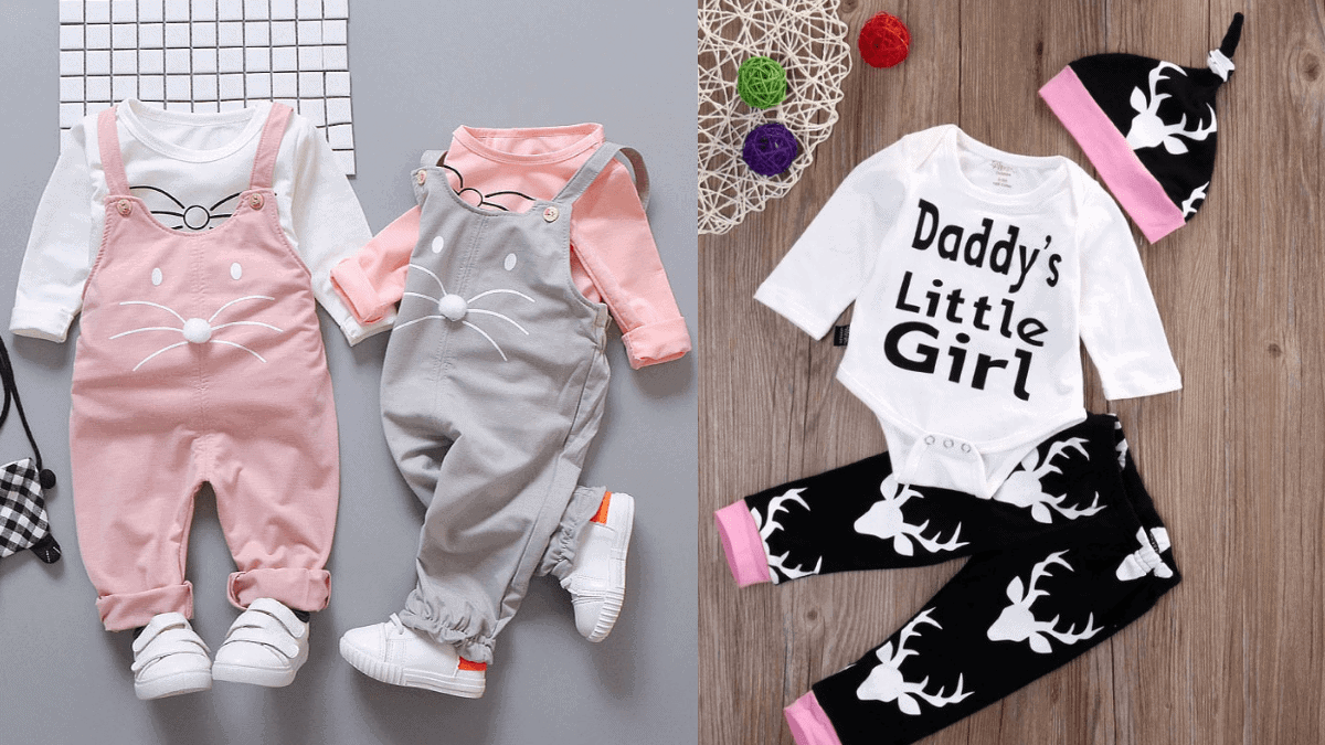 Baby Clothes For Girls Baby Shower Gifts PortraitFlip